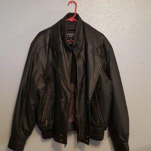 Mens Wilson Leather Jacket.